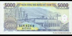 Viêt Nam - p108 - 5.000Ðồng - 1991 - Ngân Hàng Nhà Nu'ớc Việt Nam (State Bank of Viêt Nam)