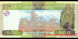 Guinée - p39a - 500 francs - 2006 - Banque Centrale de la République de Guinée
