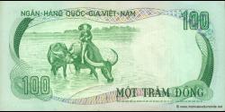 Viêt Nam Sud - p31 - 100 Ðồng - ND (1972) - Ngân-Hàng Quốc-Gia Việt-Nam