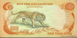 Viêt Nam Sud - p33 - 500 Ðồng - ND (1972) - Ngân-Hàng Quốc-Gia Việt-Nam