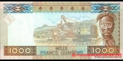 Guinée - p40 - 1 000 francs - 2006 - Banque Centrale de la République de Guinée
