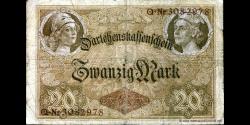 Allemagne - p048b - 20 Mark - 05.08.1914 - Reichsschuldenverwaltung