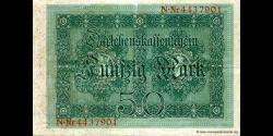 Allemagne - p049b - 50 Mark - 05.08.1914 - Reichsschuldenverwaltung