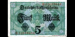 Allemagne - p056b - 5 Mark - 01.08.1917 - Reichsschuldenverwaltung