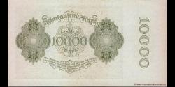 Allemagne - p072 - 10.000Mark - 19.01.1922 - Reichsbank