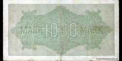 Allemagne - p076d - 1.000Mark - 15.09.1922 - Reichsbank