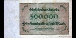 Allemagne - p088b - 500.000Mark - 01.05.1923 - Reichsbank