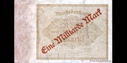 Allemagne - p113c - 1.000.000.000Mark - 15.12.1922 (09.1923) - Reichsbank
