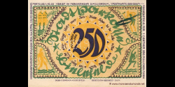 Allemagne - p415e - 250.000.000 - 02.04.1922 - Die Stadtsparkasse, Bielefeld