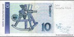 République - Fédérale - Allemagne - p38a - 10Deutsche Mark - 02.01.1989 - Deutsche Bundesbank