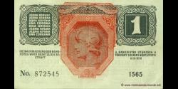 Autriche - p049 - 1 Krone - 01.12.1916 (1919) - Oesterreichisch - ungarische Bank
