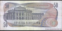 Autriche - p144 - 50 Schilling - 02.01.1970 - Oesterreichische Nationalbank