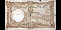 Belgique - p098c - 20 Francs / Frank - 12.01.1940 - Banque Nationale de Belgique / Nationale Bank van België