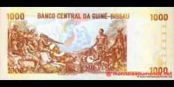 guinée-bissau - p13b - 1 000 pesos - 01.03.1993 - Banco Nacional da Guiné - Bissau
