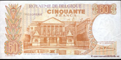 Belgique - p139a - 50 Francs / Frank - 16.05.1966 - Royaume de Belgique - Trésorerie / Koninkrijk Belgie - Thesaurie