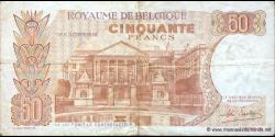 Belgique - p139b - 50 Francs / Frank - 16.05.1966 - Royaume de Belgique - Trésorerie / Koninkrijk Belgie - Thesaurie