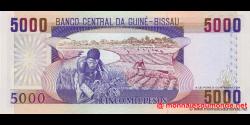 guinée-bissau - p14b - 5 000 pesos - 01.03.1993 - Banco Nacional da Guiné - Bissau