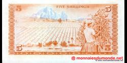 Kenya - p15 - 5 shilingi - 01.07.1978 - Banki Kuu ya Kenya / Central Bank of Kenya