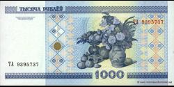 Bielorussie - p28b - 1.000 Roubles - 2000 - Natsiyanal'ny Bank Respubliki Belarus'