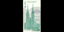 Croatie - p20 - 100 Hrvatskih Dinara - 08.10.1991 - Republika Hrvatska