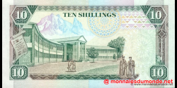 Kenya - p24d - 10 shilingi - 02.01.1992 - Banki Kuu ya Kenya / Central Bank of Kenya