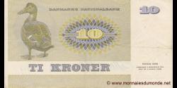 Danemark - p48e - 10 Kroner - 1975 - Danmarks Nationalbank