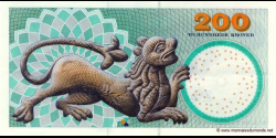 Danemark - p62e - 200 Kroner - 2007 - Danmarks Nationalbank