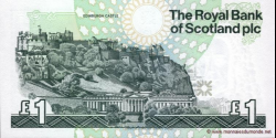 Ecosse - p351d - 1 Pound Sterling - 30.03.1999 - Royal Bank of Scotland PLC
