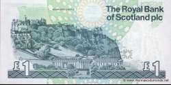 Ecosse - p351e - 1 Pound Sterling - 01.10.2001 - Royal Bank of Scotland PLC