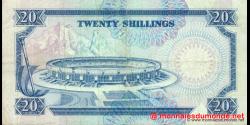 Kenya - p25b - 20 shilingi - 01.07.1989 - Banki Kuu ya Kenya / Central Bank of Kenya