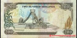 Kenya - p29c - 200 shilingi - 02.01.1992 - Banki Kuu ya Kenya / Central Bank of Kenya
