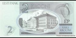 Estonie - p85b - 2Krooni - 2007 - Eesti Pank