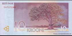 Estonie - p86b - 10Krooni - 2007 - Eesti Pank