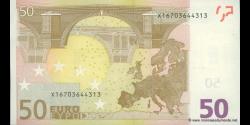 Europe - p04X - 50 Euros - 2002 - Banque Centrale Européenne