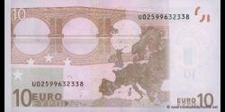 Europe - p09U - 10Euros - 2002 - Banque Centrale Européenne
