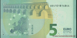 Europe - p20U - 5 Euros - 2013 - Banque Centrale Européenne