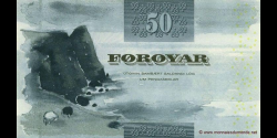 Féroé - p24 - 50 Krónur - 2001 - Faeroe Islands Government