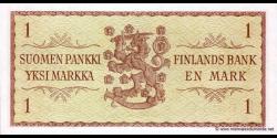 Finlande - p098r38 - 1 Markka / Mark - 1963 - Suomen Pankki / Finlands Bank