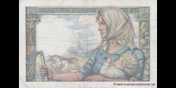 France - p099e - 10 Francs - 22.06.1944 - Banque de France
