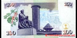 Kenya - p42a - 100 shilingi - 02.02.2004 - Banki Kuu ya Kenya / Central Bank of Kenya