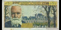 France - p141 - 5 Nouveaux Francs - 02.05.1963 - Banque de France