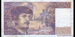 France - p151b - 20 Francs - 1987 - Banque de France