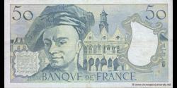 France - p152d - 50 Francs - 1988 - Banque de France