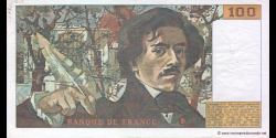France - p154b - 100 Francs - 1981 - Banque de France