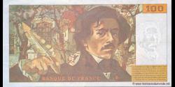 France - p154h - 100 Francs - 1995 - Banque de France