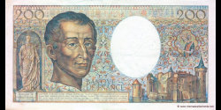 France - p155c - 200 Francs - 1988 - Banque de France