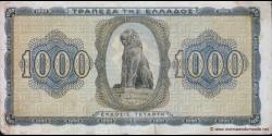 Grèce - p118b - 1.000 Drachmai - 21.08.1942 - Trapeza tis Ellados