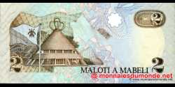 Lesotho - p09 - 2 Maloti - 1989 - Central Bank of Lesotho