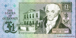 Guernesey - p52c - 1 Pound - ND (1991 - ca. 1995) - States Treasurer of The States of Guernsey