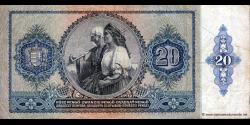 Hongrie - p109 - 20Pengö - 15.01.1941 - Magyar Nemzeti Bank